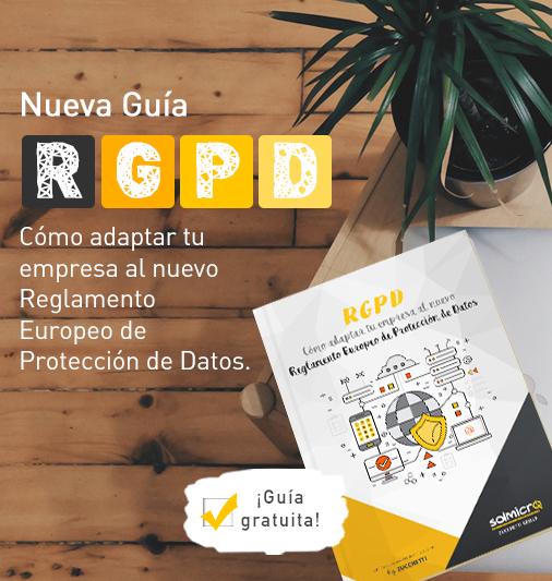 Nueva Guía RGPD.